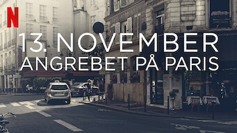 13. november: Angrebet på Paris